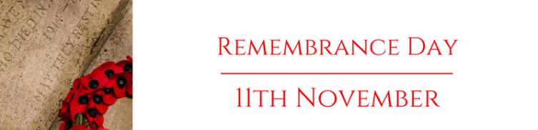 Remembrance Sunday in Blackrod