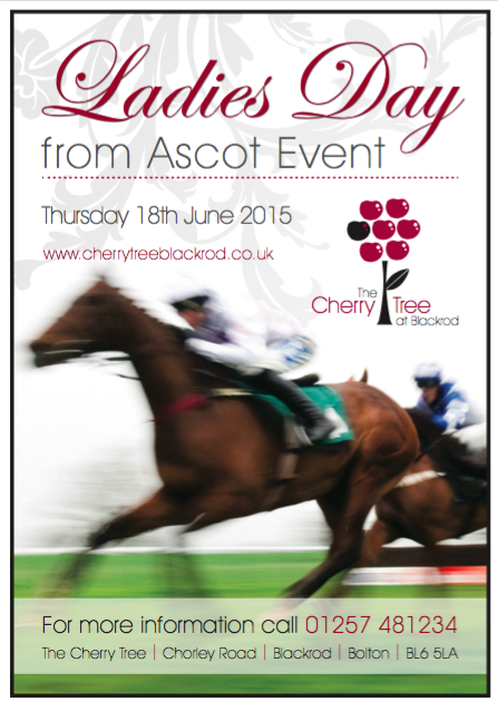 Ladies day event at the Cherry Tree Blackrod